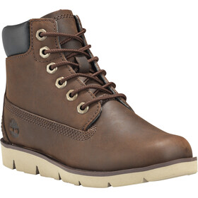 "Timberland Radford Boots 6"" Kids, medium brown full-grain"